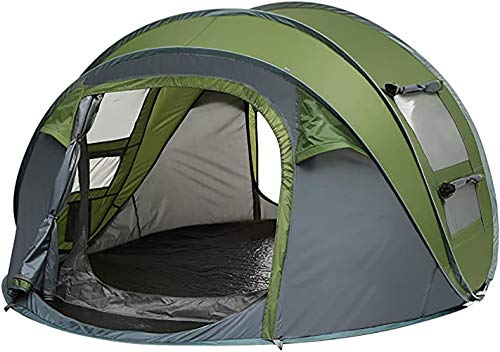 OUYA Easy Pop Up Tents, Instant Automatic 2-3 Person Family Camping Tents Setup Dome Popup Tents for Camping, Hiking and Traveling with Carrying Bag