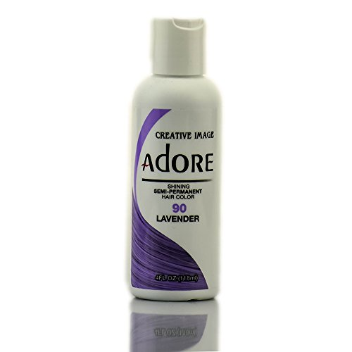 Adore Semi-Permanent Haircolor #090 Lavender 4 Ounce (118ml) (AD-90)