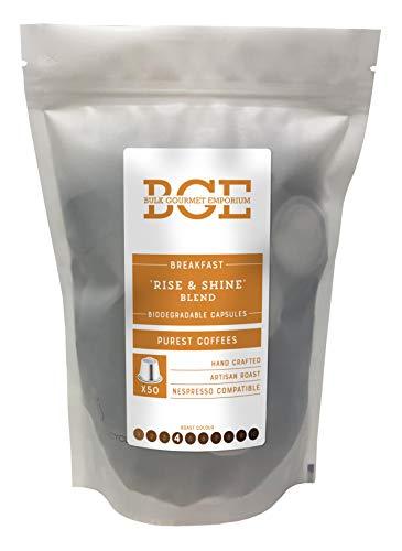Bulk Gourmet Emporium , 'Rise & Shine' Breakfast Blend Coffee Biodegradable...