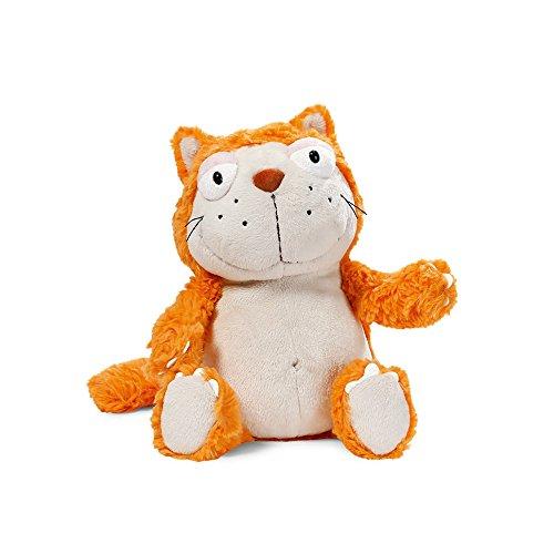 NICI 39025 Katze Plüsch Schlenker, orange/beige
