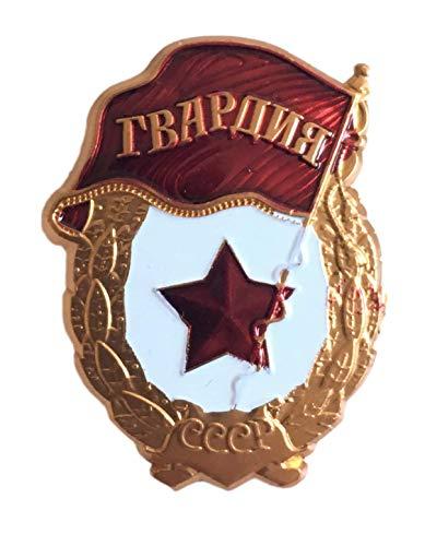 Ganwear Militärpreis der sowjetischen russischen Armee der UDSSR Wachen Metalll Mini Brosche Abzeichen Medaille Order WW2