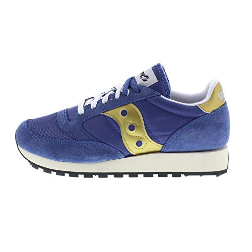 Saucony Jazz Original Vintage, Sneakers Unisex-Adulto, Nvy Gold 30, 38 EU