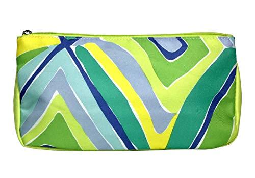 Clinique Promotional Bag for Cosmetics  Makeup  Toiletries  Travel (Cool Colors Print)