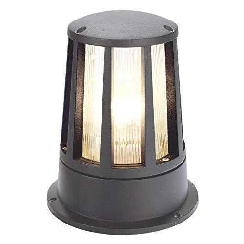 SLV 230435 CONE Lampe d'extérieur Anthracite E27 max. 100 W IP54 Aluminium Gris pierre