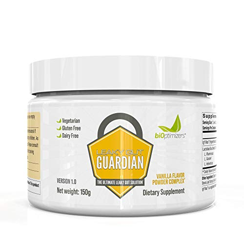 Leaky Gut Guardian - Vegetarian Vanilla - Contains Bio-Cultures for Men and Women - GI Revive - 30 Servings - 150g