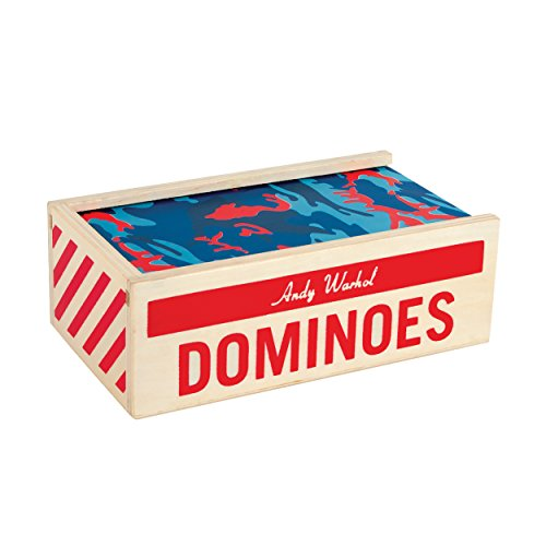 Mudpuppy - Andy Warhol - Wooden Dominoes Set