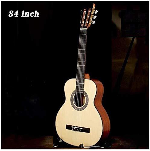 Guitarra eléctrica Guitarra acústica Guitarra Clásica 1/2 tamaño 34
