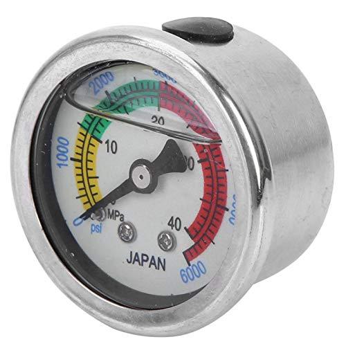 BOLORAMO Equipo de Buceo Libre Manómetro de Buceo Ligero, fácil de Llevar y Usar, para SPA, para bucear