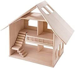 KUBI DUBI Educational Toys for Kids - Developmental Games for a Little Toddler Girl. Wooden Dollhouse is DIY kit for pre Kindergarten Age 4 preschoolers 3 Year Old Girls and up. Invest in Your Child.