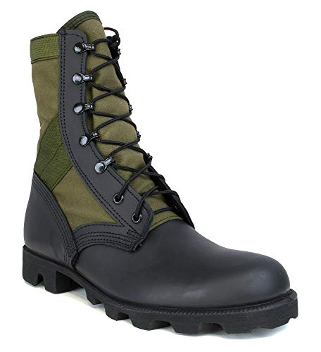 MCRAE Legacy Combat Boot with Panama Sole, Od and Black, 11 Wide