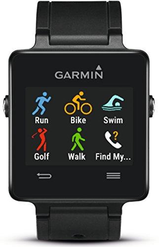Garmin Unisex Sport GPS-Smartwatch vívoactive, 3 Wochen Batterielaufzeit, Sport Apps (Laufen, Radfahren, Schwimmen)