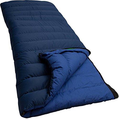 Lowland Outdoor® Companion NC 2 Sac de Couchage en Duvet Bleu 220 x 80 cm