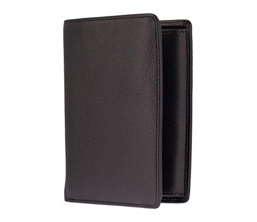 Picard EUROJET Herren Geldbeutel Portemonnaie Geldbörse Schwarz 2565