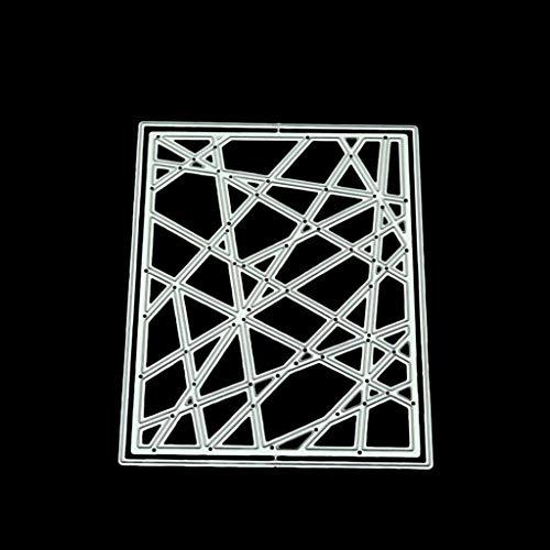 Balain Stanzschablonen Linie Rahmen DIY Metall schneiden stirbt Stencil Scrapbooking Foto Album Stempel Papier Karte Handwerk Decro Cutting Dies