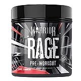 Warrior - RAGE Pre Workout Powder - Savage Strawberry 392g