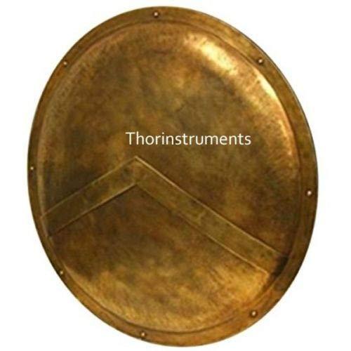 Piru 300 Spartan Shield King Leonidas 36' - Official Replica - Antique Brass