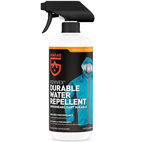 GEAR AID unisex-adult Revivex Durable Water Repellent (DWR) Spray for Reproofing Jackets, 16.9 fl...