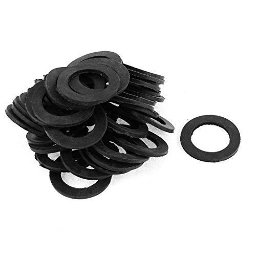 sourcingmap® 41Stk Gummi Dichtung Matte O Ring Schwarz 40mm x 25mm x 2mm de