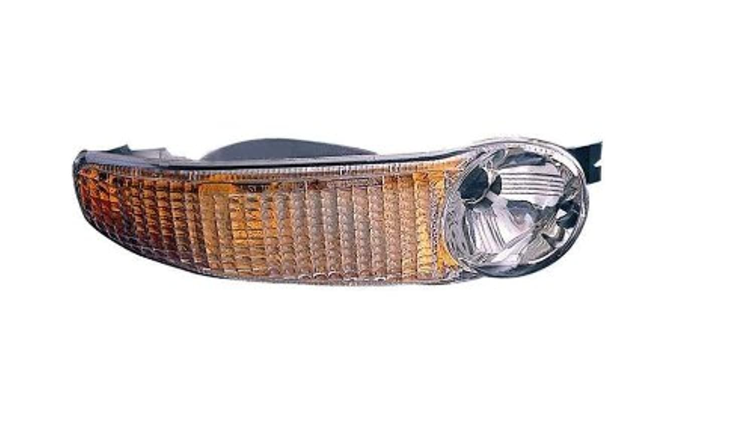 Depo 335-1602R-US GMC Passenger Side Replacement Parking/Signal Light Unit without Bulb