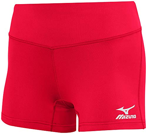 Mizuno Victory 3.5' Inseam Volleyball Shorts Red