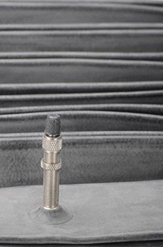 Vrede Stone MTB TTC Dunlop/Flash 26x1.75/2.35/47/6026'x 1.5040-559Mountain Bike Bicycle Inner Tube–Black, 26