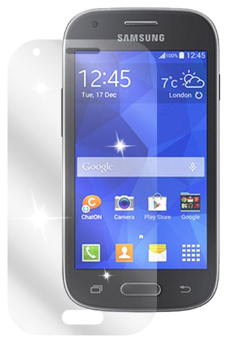 dipos I 2X Schutzfolie klar kompatibel mit Samsung Galaxy Ace Style Folie Bildschirmschutzfolie