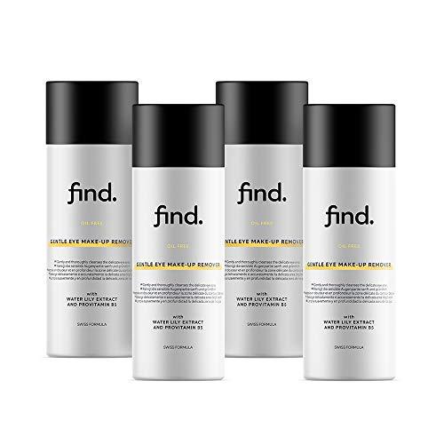 bester Test von olfreies make up FIND – Ölfreier Make-up-Entferner für sanfte Augen (4 x 150 ml)
