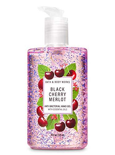 Bath & Body Works - Black Cherry Merlot - Full Size - Anti-Bacterial Hand Sanitizer 7.6 Oz