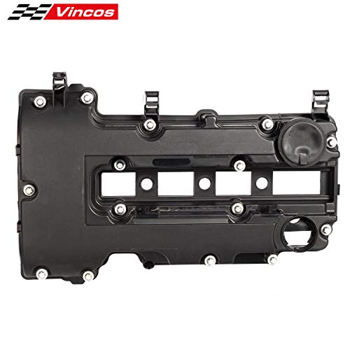 Vincos Valve Cover Cam Valve Rocker Camshaft Cover with Bolts & gasket Compatible with Cruze Sonic Trax Volt Compatible with Encore 1.4L 2011-2017 for 55573746 25198874