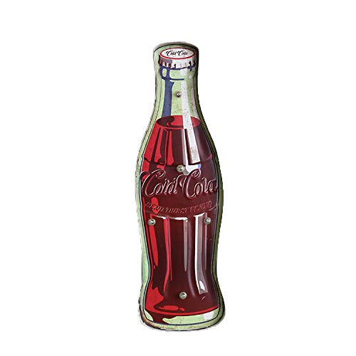 Y-XM Retro-Coke Eisen LED Lampe Wandschmuck Wanddekoration Bar Cafe
