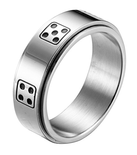 Top dice ring stainless steel for men for 2020