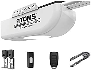 ATOMS AT-1611 By Skylink 1/2HPF Garage Door Opener with Extremely Quiet DC Motor, Chain Drive
