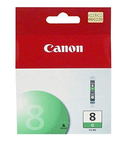 Canon CLI-8 G Cartucho de tinta original Verde para Impresora de Inyeccion de tinta Pixma PRO9500-PRO9500MarkII