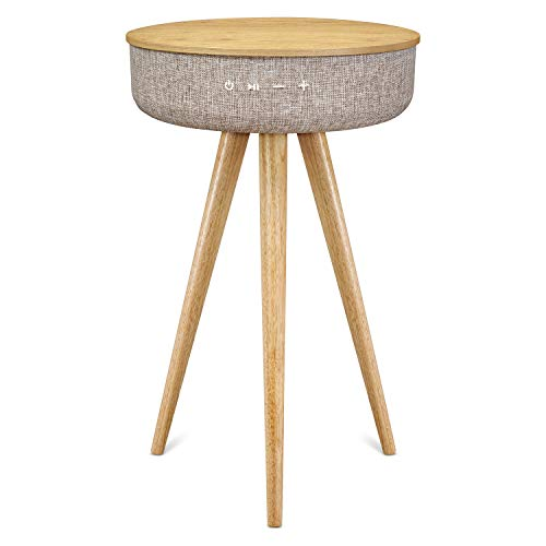 Victrola houten salontafel Bluetooth luidspreker - grijs
