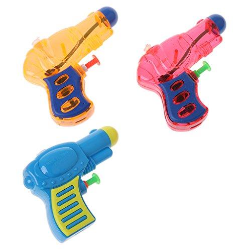 ECMQS Mini Wasserpistole Spielzeug, Outdoor Sports Badespielzeug Pool Wasser Spielzeug (3)