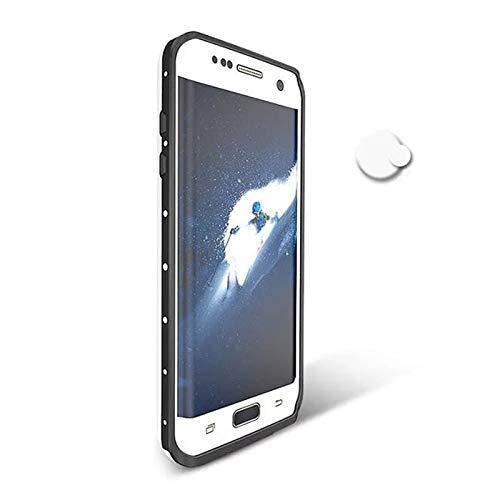 LYXDZW Ajuste Fit For Samsung Galaxy S7 Funda De Borde Original RedpePPPER Dot Series IP68 PC De Buceo A Prueba De Agua PC + TPU Cubierta De Armadura Funda Protectora para teléfono FF
