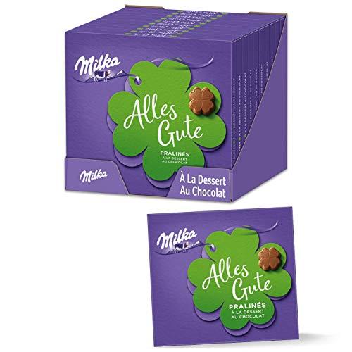 Milka Alles Gute Pralinen 10 x 110g, Feine Pralinés aus Alpenmilchschokolade mit Kakaocrèmefüllung
