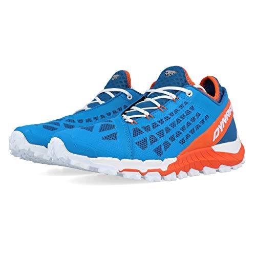 Dynafit Trailbreaker EVO, Zapatillas de Trail Running Hombre, Methyl Blue/Orange, 43 EU