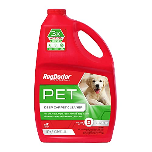 Rug Doctor Pet Deep Cleaner, Non-Toxic Concentrated Solution, 96 oz