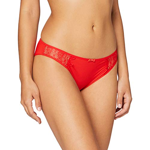 Passionata Womens Georgia Briefs, Rouge Poison, 38