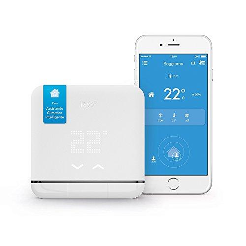 Climatizzazione Intelligente tado° V2 - Assistente Climatico Intelligente per il tuo Condizionatore, Wi-Fi, compatibile con Amazon Alexa, Google Assistant & IFTTT, Bianco
