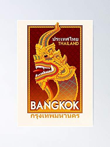 AZSTEEL Travel Poster - Bangkok Thailand