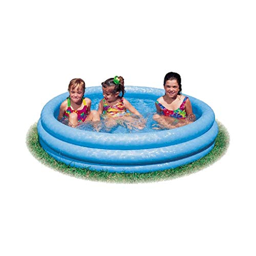 Intex 59416NP - Piscina hinchable 3 aros azul, 114 x 25 cm,
