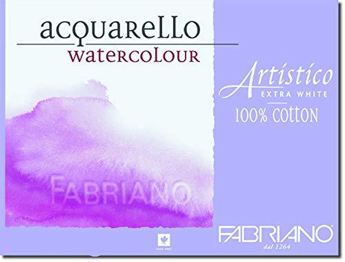 Fabriano Artistico 140 lb. Hot Press 10-Pack 11x14' - Extra White