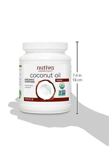Nutiva Organic, Unrefined, Virgin Coconut Oil, 54-ounce