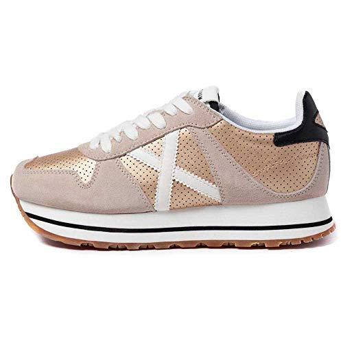 MUNICH Massana Sky 145 Sneaker Donna Beige Gold White 8810145