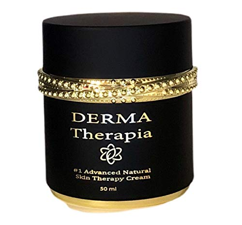 Derma Therapia #1 Natural Skin Cream, Anti aging, anti wrinkle, healing, face and body moisturizer. Clearer and tighter skin. Soothes irritations. Peptides, Hyaluronic acid, Vitamins. Made in USA
