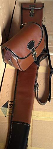 Equinez Tools New Sheep Skin Leather Gun Case/Slip + Matching Bag Beautiful Design.
