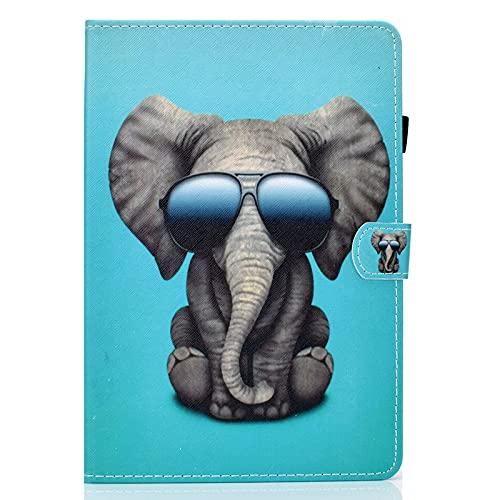 JIan Ying Funda para Huawei Mediapad T5 10.1 pulgadas Slim ligero protector cubierta elefante gafas