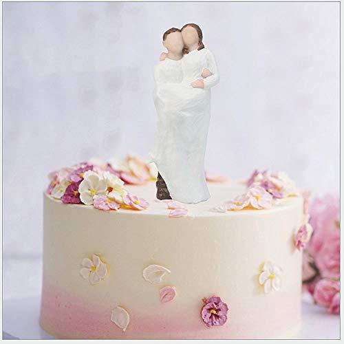 Soode romantische bruidegom & bruid huwelijk hars beeldje bruiloft taart topper bruiloft decoratie taart deocrating bruiloft geschenken gunsten